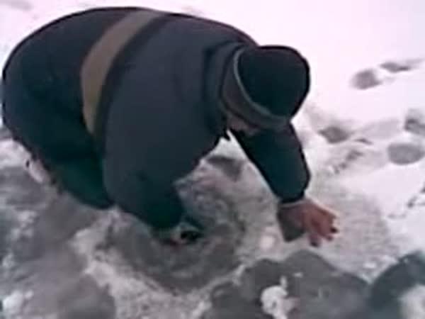 Lov ryb holou rukou