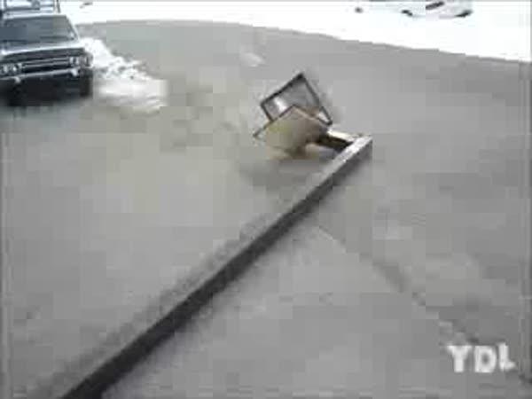 Idiot - Proražení sněžné závěje