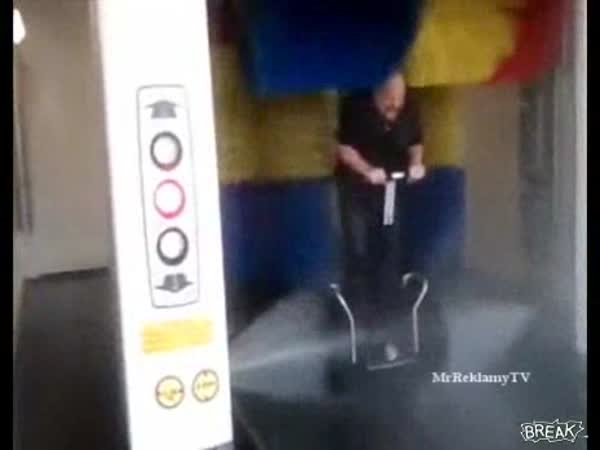 Jak se umývá Segway
