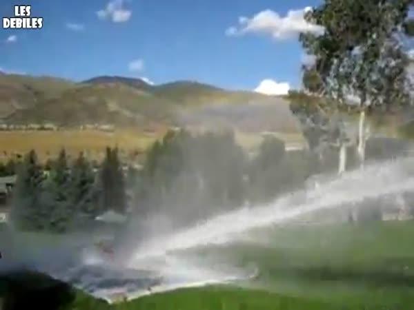 Letní hrátky s vodním dělem