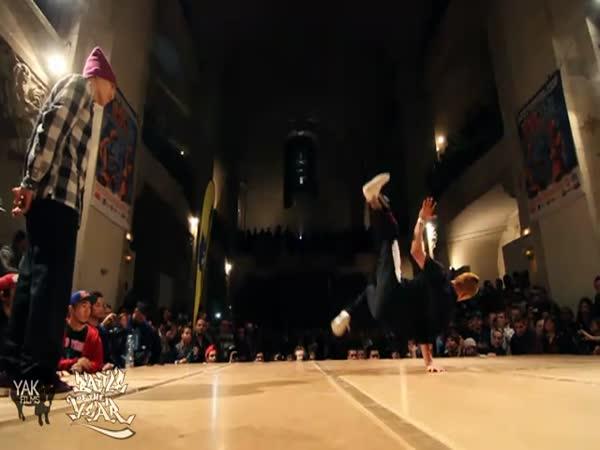 Borci - taneční exhibice