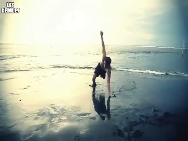 Slow motion - akrobacie