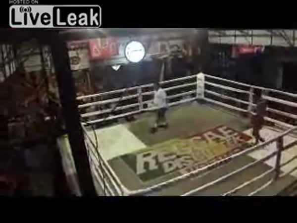 Thajský box - nejlepší zápas