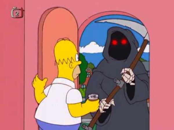Simpsonovi - Smrtka