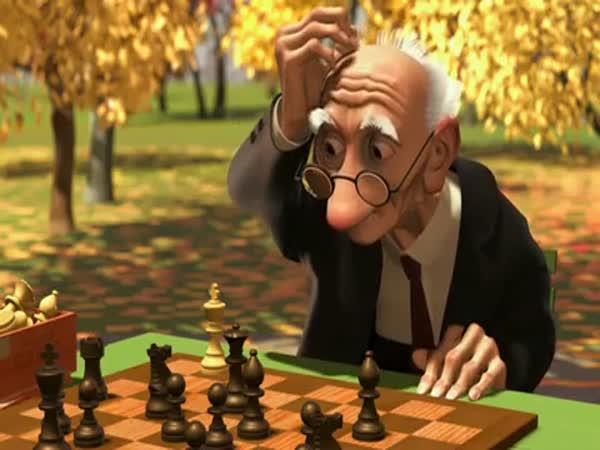 Animace - Dědeček a šachy