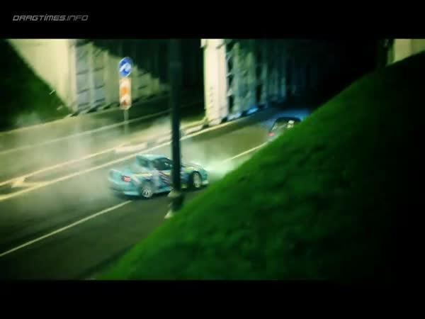 Moskva - Drift v ulicích