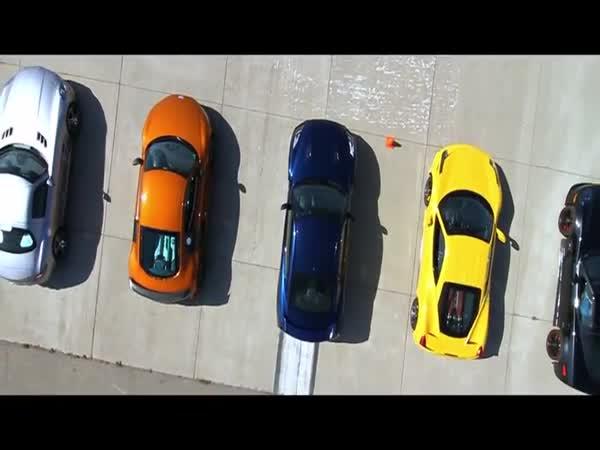 Závod 11 nejlepších aut na světě