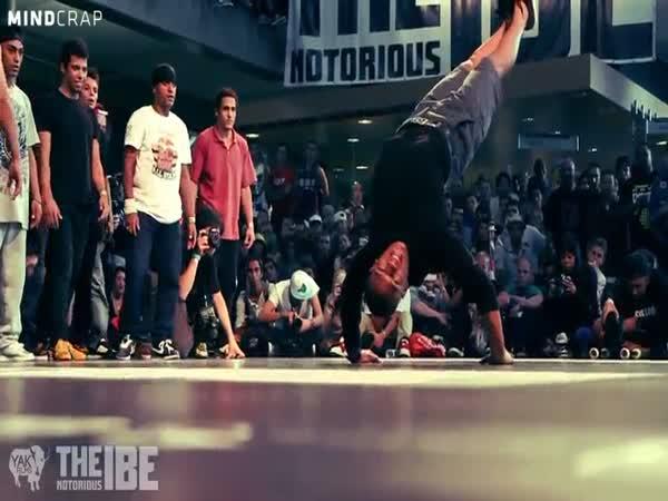 Taneční exhibice - The Notorious IBE 2011