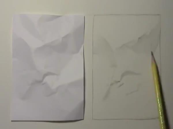 Borec - kreslení papíru