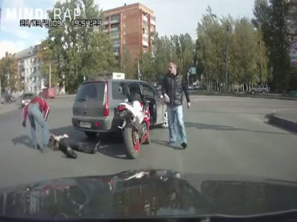 Bitka na křižovatce