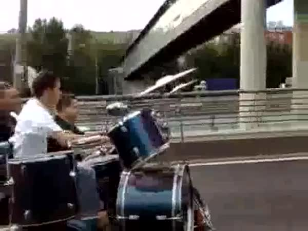 Borci - Pojízdná zkušebna