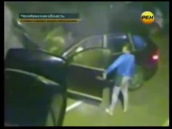 Rusko - Stylové parkování