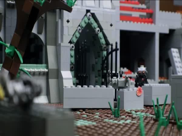 Stop motion - Lego řežba
