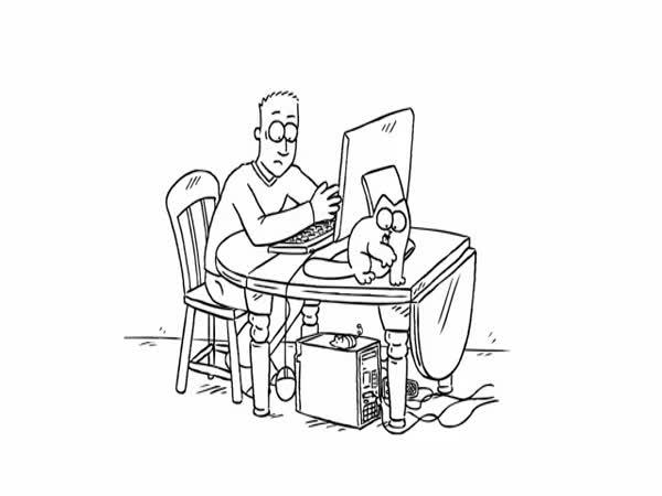 Simon´s cat - Počítač
