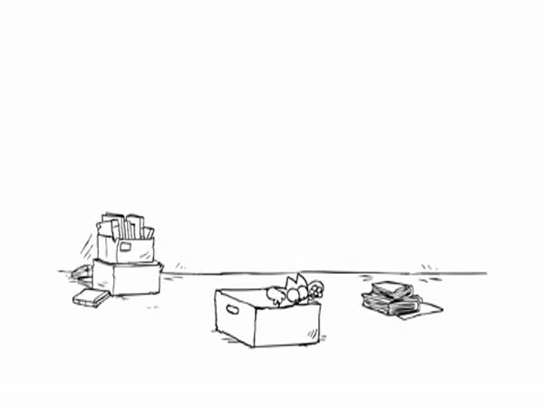 Simon´s cat - Krabice