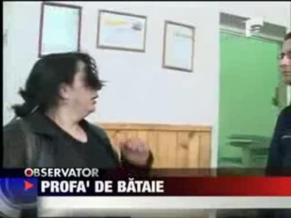Cikánka vs. Policista
