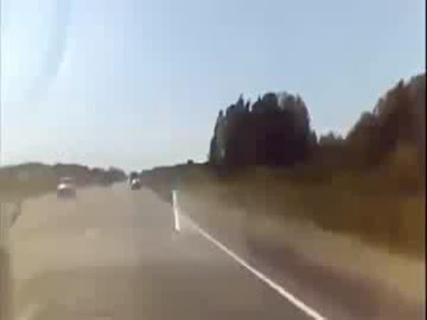 Čelní náraz - nehoda