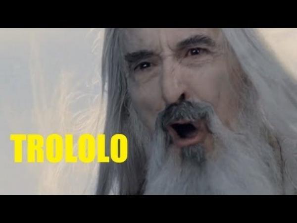 Trollující Saruman