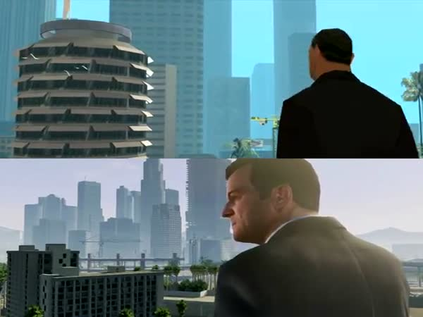 San Andreas vs. GTA V
