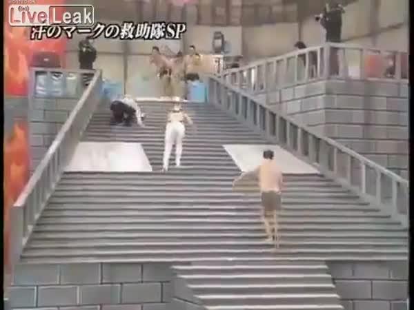 Drsná japonská TV soutěž 2
