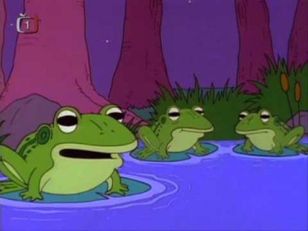 Simpsonovi - Žáby alkoholičky