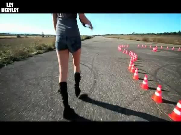 Drift s motorkou - Jorian Ponomareff