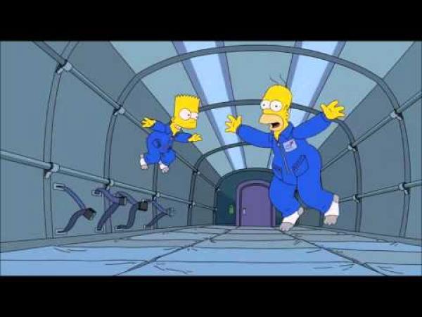 Simpsonovi - Závod v krkání