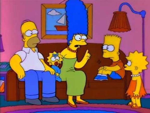 Simpsonovi - Jak Homer přišel o vlasy