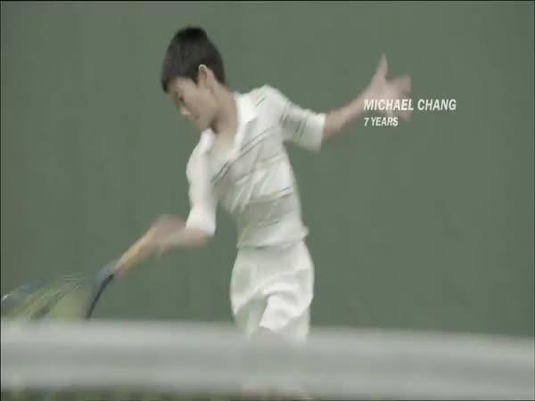 Parodie na známé tenisty