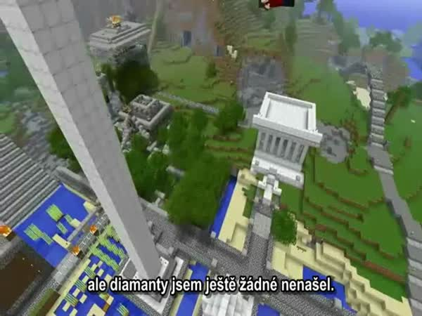 Minecraft - In Search of Diamonds CZ