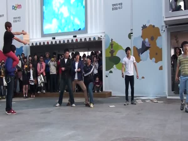 Bojová exhibice - Korejské Taekwondo