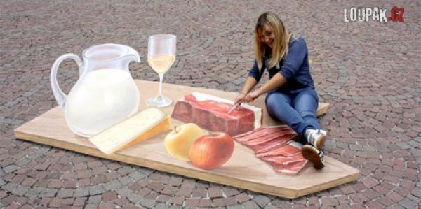 OBRÁZKY - 3D Umění na chodníku