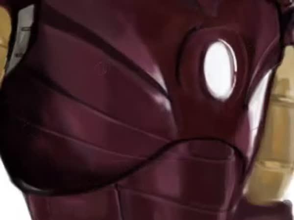 Borec - Iron man ve photoshopu