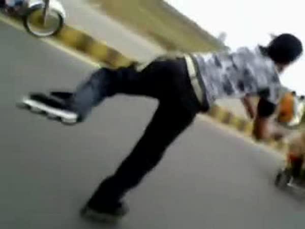 Borec - kousky s motorkou