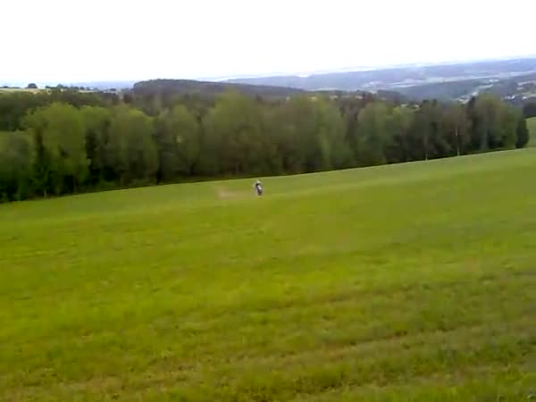 Skok přes křižovatku