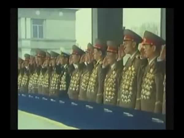 Severní Korea - párty