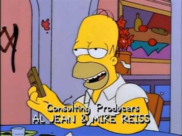 Simpsonovi - Soutěž v pití piva
