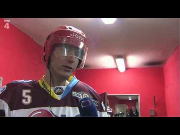 Rozhovor s hokejistou - Tak určitě!