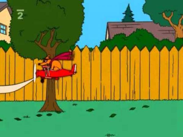Simpsonovi - Já bych radši sledoval toho psa