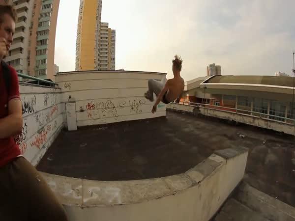 To nejlepší z ruského freerunningu 2011