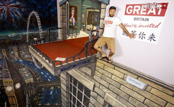 OBRÁZKY - 3D Umění na chodníku  2.díl