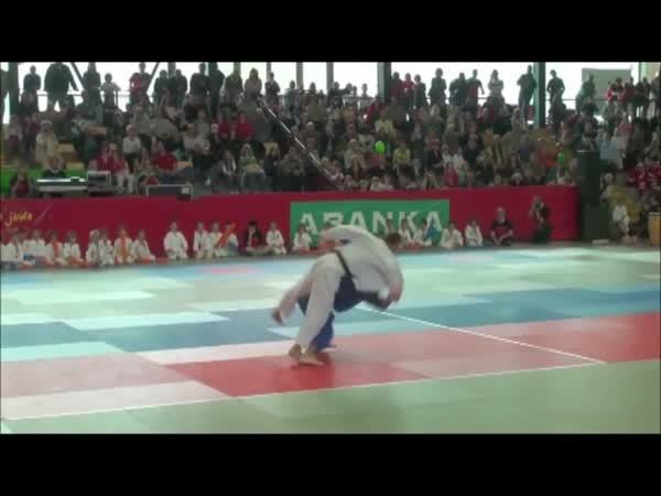 Judo tanec - exhibice