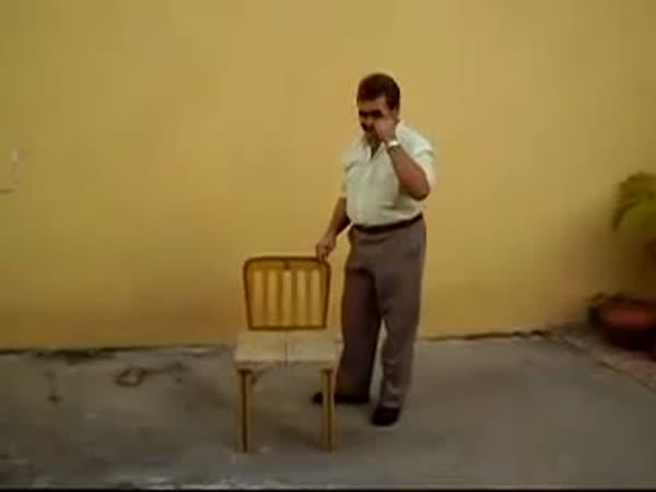 Vynález - Skládací židle