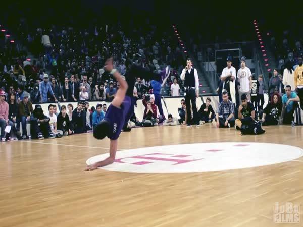 Taneční exhibice - Team Battle 2012