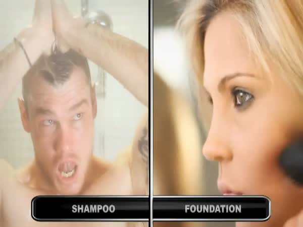Ženy vs. muži - koupelna