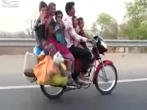 Rodinný moto výlet
