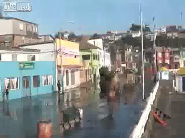 Malá tsunami z Chile