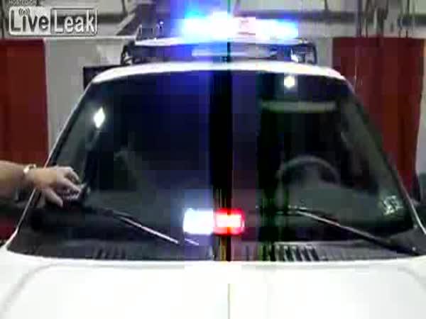 Stylový policejní maják