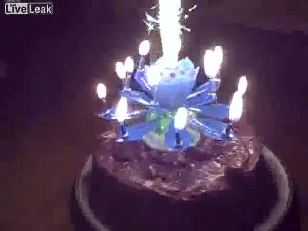 Dortová svíčka