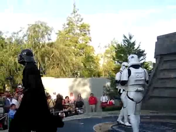 Star Wars dance